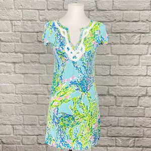 Lilly Pulitzer Brewster T-shirt Dress Blue Heaven